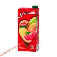 "Напиток ""Любимый"" Грейпфрут, Лимон, Лайм 1,93л"