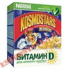 """Готовый завтрак """"Nestle Kosmostars"""" медовый 325г"""