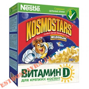 """Купить Готовый завтрак """"Nestle Kosmostars"""" медовый 325г"""