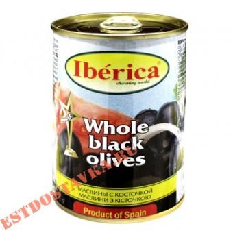 """Купить Маслины """"Iberica"""" с костью 360г"""
