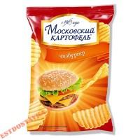 """Чипсы """"Московский Картофель"""" со вкусом чизбургера 70г"""