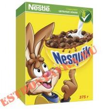 """Готовый завтрак """"Nesquik"""" шоколадный 375г"""
