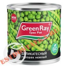 """Горошек """"Green Ray"""" зеленый 425мл"""
