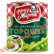 """Горошек """"Фрау Марта"""" зеленый 310г"""