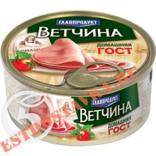 "Ветчина ""Главпродукт"" Домашняя Гост 325г"