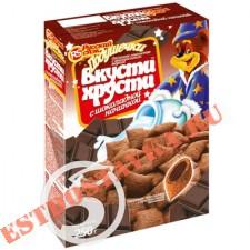 "Завтрак ""Вкусти Хрусти"" шокол Подушечки 250г"