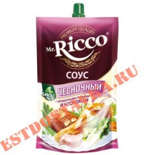 """Cоус """"Mr. Ricco"""" Чесночный на основе растительных масел 210г"""