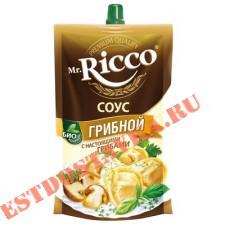 """Cоус """"Mr. Ricco"""" Грибной на основе растительных масел 210г"""