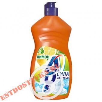 """Купить Средство для мытья посуды """"Aos"""" Лимон 500г"""