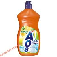 """Моющее средство """"Aos"""" с лимоном 500г"""
