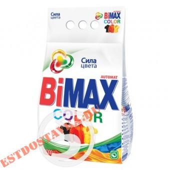 """Купить Порошок """"Bimax"""" стиральный Color автомат 3кг"""