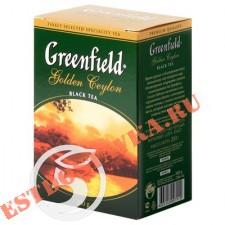 """Чай """"Greenfield"""" Golden Ceylon черный листовой 200г"""