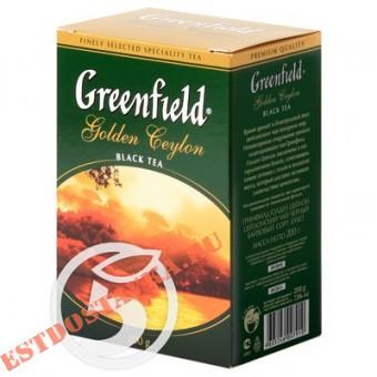 """Купить Чай """"Greenfield"""" Golden Ceylon черный листовой 200г"""