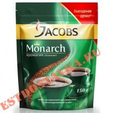"""Кофе """"Jacobs"""" Monarch натуральный растворимый сублимированный 150г"""