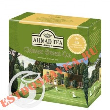 "Чай ""Ahmad"" Tea Chineese зеленый листовой 40*1,8г"