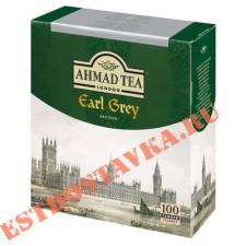"Чай ""Ahmad"" Tea Earl Grey черный 100пак*2г"