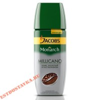 """Кофе """"Jacobs"""" Monarch Millicano натуральный растворимый сублимированный 95г"""