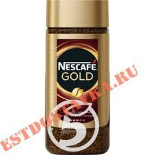 """Кофе """"Nescafe"""" Gold растворимый сублимированный с добавлением натурального молотого 95г"""