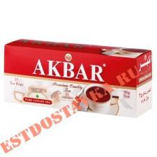 """Чай """"Akbar"""" черный 25шт*2г"""