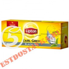"""Чай """"Lipton"""" Earl Grey Tea черный байховый ароматизированный 25шт*2г"""