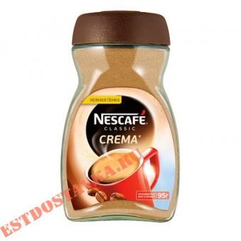 """Купить Кофе """"Nescafe"""" Classic Crema растворимый натуральный 95г"""