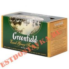 "Чай ""Greenfield"" черный Earl Grey Fantasy 25шт*2г"