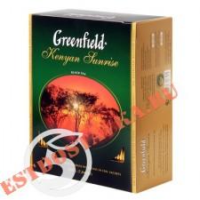 "Чай ""Greenfield"" черный Кениан Санрайз 100шт*2г"