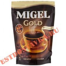 """Кофе """"Migel"""" Gold натуральный растворимый сублимированный 75г"""