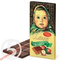 "Шоколад ""Аленка"" С Фундуком молочный 100г"