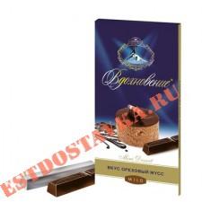 """Шоколад """"Вдохновение"""" Mini Dessert c начинкой Ореховый мусс 100г"""