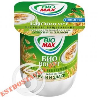 """Купить Биойогурт """"Bio-Max"""" Отруби и злаки 2,6% 125г"""