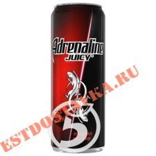 """Напиток """"Adrenalin""""e Juicy энергетический Ягодная энергия 500мл"""