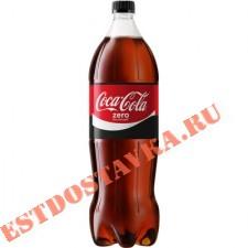 """Напиток """"Coca-Cola"""" Zero 1.5л"""