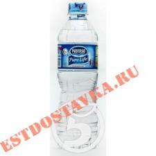 """Вода """"Nestle"""" Pure Life питьевая негазированная 500мл"""