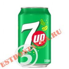 """Напиток """"7up"""" безалкогольный газированный 0.33л"""
