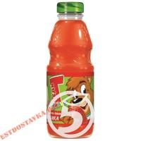 """Напиток """"Теди"""" Радужный морковь, банан, яблоко, клубника сокосодержащий 0,3л"""