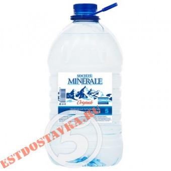 """Купить Вода """"Societe Minerale"""" артезианская питьевая негазированная 5л"""