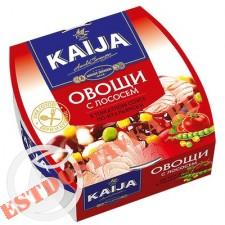 """Овощи """"Kaija"""" с лососем по-Итальянски в томатном соусе 220г"""