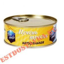 """Печень трески """"Fish House"""" натуральная 230г"""