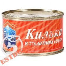 """Килька """"Fish House"""" в томатном соусе 240г"""