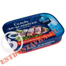 """Сельдь """"Fish House"""" по-исландски филе-кусочки в красновиной заливе 115г"""