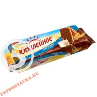 """Печенье """"Юбилейное"""" витаминизированное молочное с глазурью 116г"""