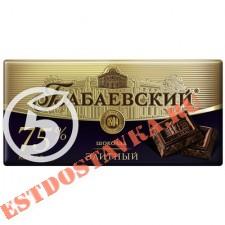 """Шоколад """"Бабаевский"""" элитный 75% какао 200г"""