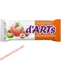 """Батончик """"Леовит"""" Darts Яблоко с лесным орехом, фруктовый 45г"""