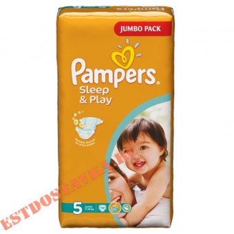 """Купить Подгузники """"Pampers"""" Sleep & Play Junior (размер 5) 58шт"""
