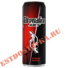 "Напиток энергетический ""Adrenalin""e Rush Red Energy ж/б 0.5л"