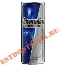 """Напиток энергетический """"Adrenalin""""e Game Fuel газированный 0,5л"""