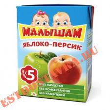 """Нектар """"Фрутоняня"""" Малышам яблоко-персик не осветленный 0,2л"""