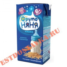 "Кашка ""Фрутоняня"" молочно-пшеничная 0,2л"