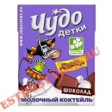 """Коктейль молочный """"Чудо Детки"""" Шоколадный 3.2% 200мл"""